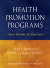 Health Promotion Programs book